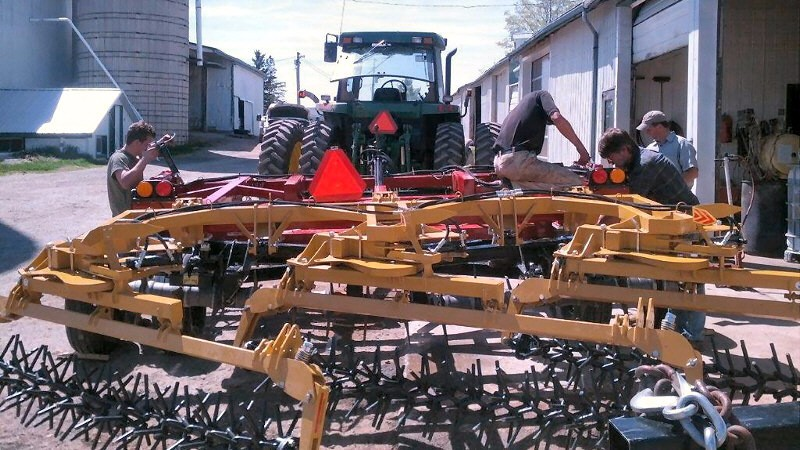 Weppler 15 footer Rotary Harrows
